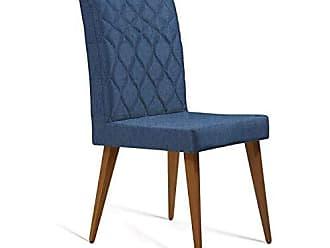 Mobly Cadeira Edon Linho Marinho