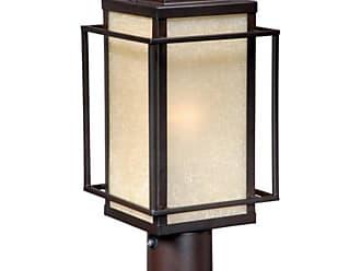 Vaxcel Robie Outdoor Post Light - 7.12W in. Espresso Bronze - RB-OPU070EB
