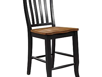 Winners Only Quails Run Counter Height Slat Back Stool - Set of 2 - WIN241-1