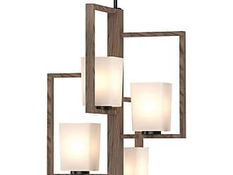 Volume Lighting 5555 Paxton 4 Light 18 Wide Square Mini Chandelier