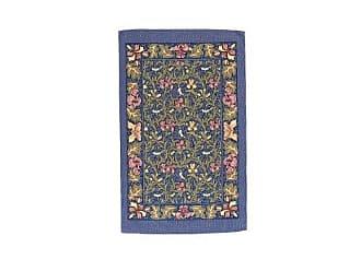 Ulster Weavers s Birds and Iris Linen Tea Towel, Blue