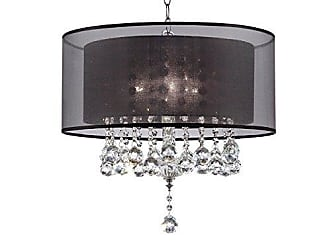 Ore International Ore International K-5150H 19 Effleurer Crystal Ceiling Lamp, Unknown