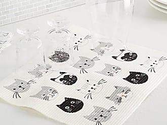 Danica Studio Swedish kitten dish drying mat