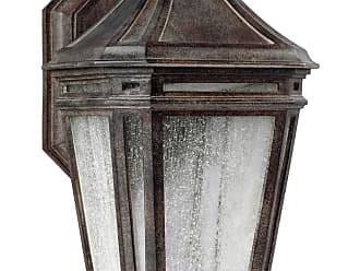 Feiss Londontowne 16 LED Outdoor Wall Sconce in Weathered Chestnut