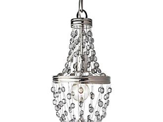 Feiss Malia 1 Bulb Polished Nickel Chandelier