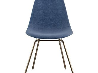 NyeKoncept 331006CL2 Mid Century Classroom Side Chair, Dodger Blue