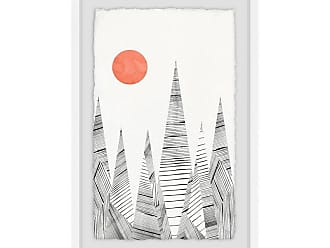 Marmont Hill An Orange Moon Framed Wall Art - MH-NORD-03-WFPFL-18