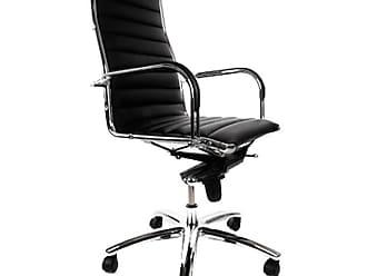 Bureaustoel Directie S210 Zwart Leer Met Hout.Bureaustoelen In Zwart 26 Producten Van 2 Merken Stylight