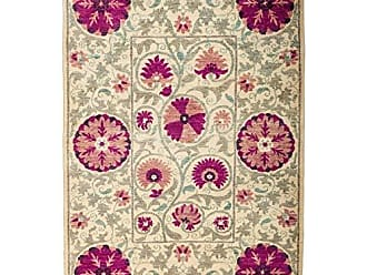 Solo Rugs M1825-144 Suzan Area Rug Hand Knotted Area Rug, 4 2 X 6 2, Pink