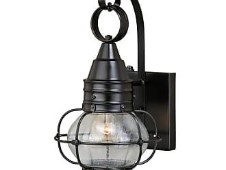Vaxcel Lighting T0280 Chatham Brass Single Light 14 High Outdoor Wall