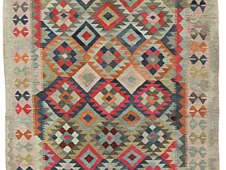 Nain Trading Kilim Afghan Heritage Rug 66x50 Beige/Dark Brown (Afghanistan, Handwoven, Wool)