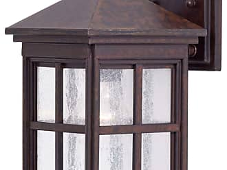 Minka Lavery Lighting 8561-51 1 Light Wall Mount in Rust finish