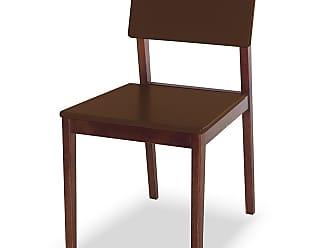 Nem Tudo é Igual Cadeira Felipe Marrom EscuroMarrom Escuro