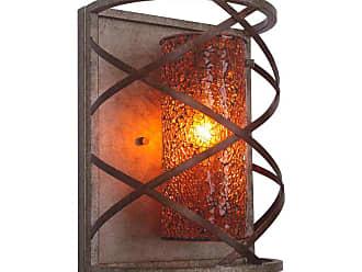 Woodbridge Lighting 12641VIN-M10 Braid Single Light 7-3/4 Wide Wall