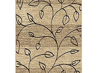 Orian Rugs Four Seasons Indoor/Outdoor Kingwood Driftwood Area Rug, 52 x 76, Beige