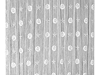 Heritage Lace Sand Dollar Door Panel, 45 by 36-Inch, White