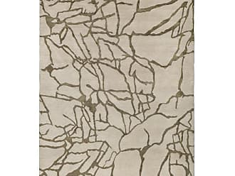 Kelly Wearstler Tracery Hand-knotted 6x4 Floor Rug In Wool And Silk By Kelly Wearstler