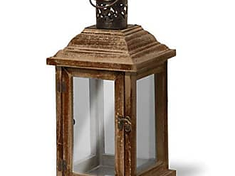 National Tree Company National Tree 5.7 Inch by 12.5 Inch Garden Accents Brown Lantern (RAS-YZ109014)