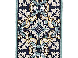 Liora Manne Ravella Floral Tile Indoor/Outdoor Area Rug, Size: 2 x 3 ft. - RVL23225333