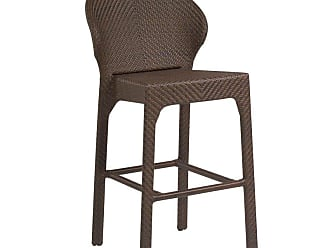 Woodard Outdoor Whitecraft by Woodard Bali Bar Stool without Arms - S533091