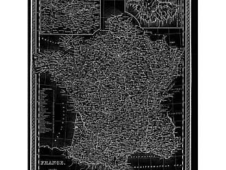 Hatcher & Ethan France Map 1849 Canvas Art - HE11088_16X20_CANV_XHD_HE