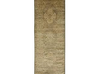 Solo Rugs Oushak Hand Knotted Runner Rug, 2 6 x 8 6, Gray