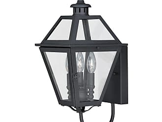 Vaxcel Nottingham T0079/80 Outdoor Wall Sconce, Size: 12 in. - T0080