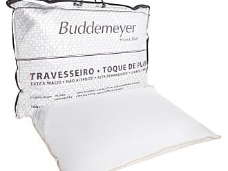 Buddemeyer Travesseiro Buddemeyer Toque de Pluma 233 Fios Branco
