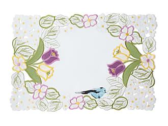 SFERRA Springtime 4-Piece Placemat Set, 14 x 20