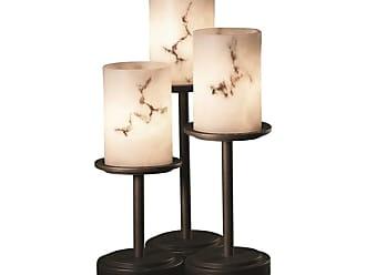 Justice Design Group FAL-8797-10 Dakota 3 Light 16 Tall Table Lamp