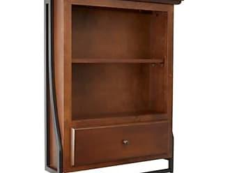 Ashley Furniture Blakely 2-Tier Wall Shelf, Brown