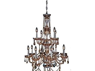 Worldwide Lighting W8309828 Provence 12 Light 28 Wide Crystal