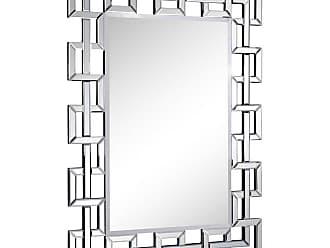 Elegant Furniture & Lighting Modern Wall Mirror - 35W x 48H in. - MR-3348