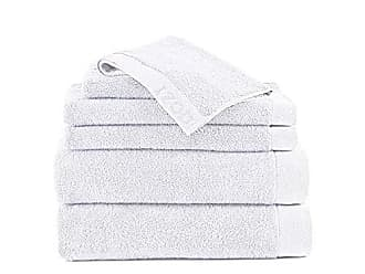 Westpoint Home CLASSIC EGYPTIAN COTTON 6 PIECE TOWEL SET BY IZOD - 2 Bath Towels, 2 Hand Towels, 2 Wash Cloths - Premium, Soft, Absorbent - Sport, Home - Machine Washable - Optical White