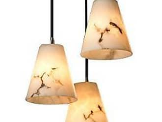 Justice Design Group LumenAria 3 Light Cluster Cone Pendant