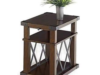 Progressive Furniture P527-29 Landmark Chairside Table, Vintage Ash