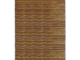 Niazitex Tapete Retangular de Couro Kochi Niazitex 2,40mx3,40m Marrom