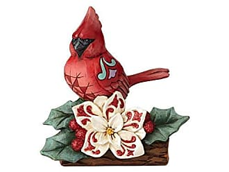 Enesco Jim Shore Heartwood Creek Winter Wonderland Cardinal Figurine, 5.51, Multicolor