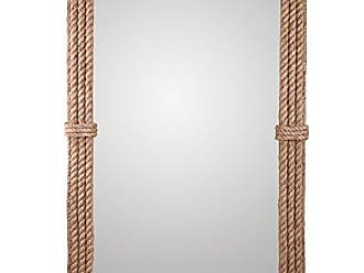 Kenroy Home 60206 Rudy Wall Mirror, Natural Rope
