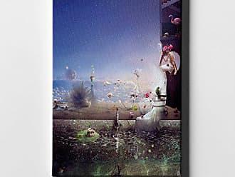 Cortesi Home Blood by Mario Sanchez Nevado Giclee Canvas Wall Art 18 x 18 Blue