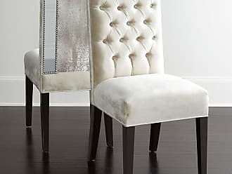 Haute House Home Brittney Mirrored Dining Chair