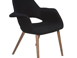 NUEVO Jessie Arm Chair Black - HGEM235