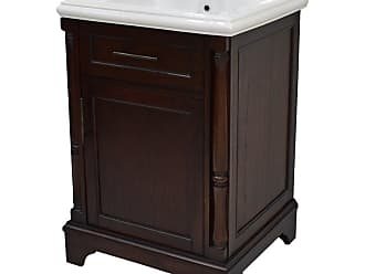 222 Fifth Madison Rectangular Single Sink Bathroom Vanity - 7038BR900B1J06