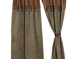 Wooded River Autumn Leaf Curtain Set - WD1574