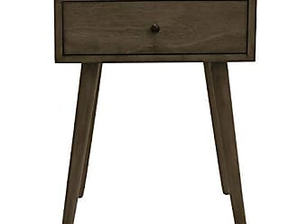 Decor Therapy FR8617 Side Table, Resotration Gray