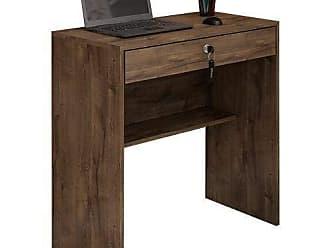 JCM Movelaria Mesa Escrivaninha Andorinha Para Computador Cacau JCM Movelaria