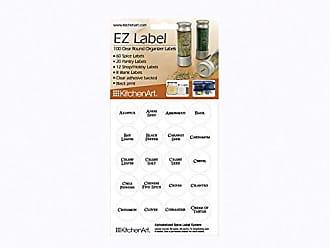 Fox Run Craftsmen KitchenArt 17005 EZ Spice Label Set, 100-Piece