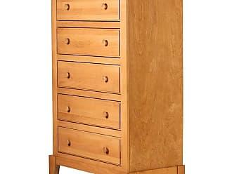 Forest Designs Shaker 5 Drawer Dresser Unfinished Alder - B3051- SN-UA
