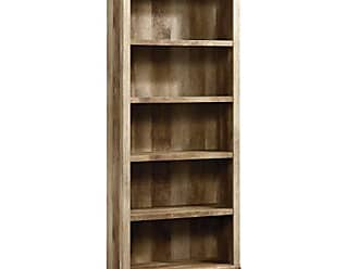 Sauder Sauder 417223 East Canyon 5 Shelf Bookcase, L: 29.29 x W: 13.39 x H: 71.02, Craftsman Oak finish