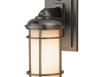 Feiss Lighthouse Wall 5 Mount Lantern in Bronze Finish